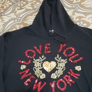 Love you New York hoodie